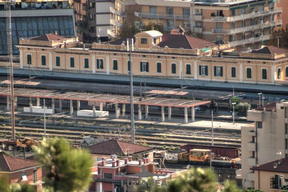 La stazione ferroviaria di Sestri Levante