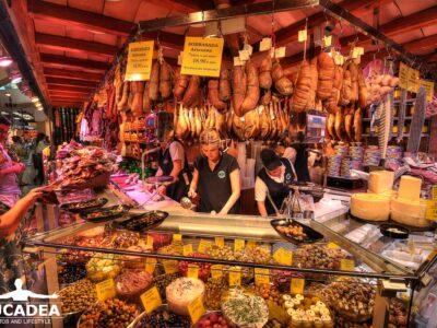 Mercato dell'Olivar a Palma di Maiorca