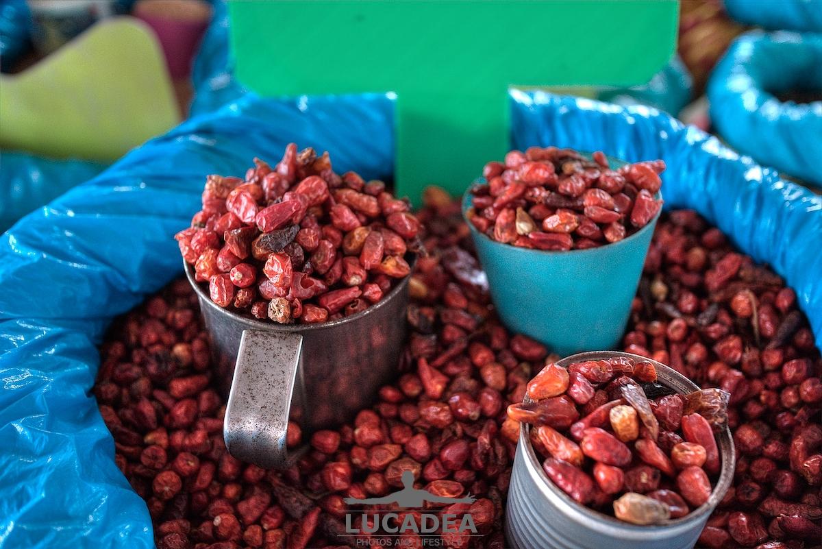 Peperoncini secchi a Guadalupe