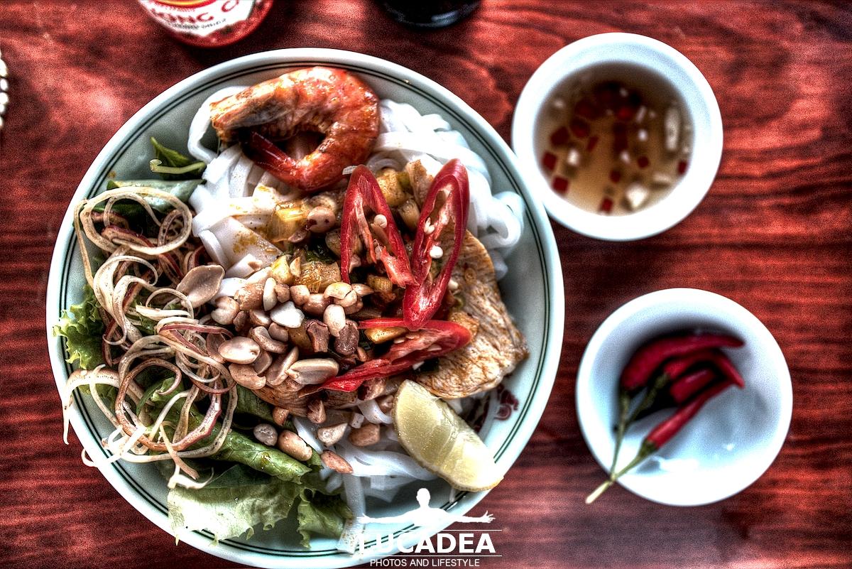 Quang noodle, piatto vietnamita