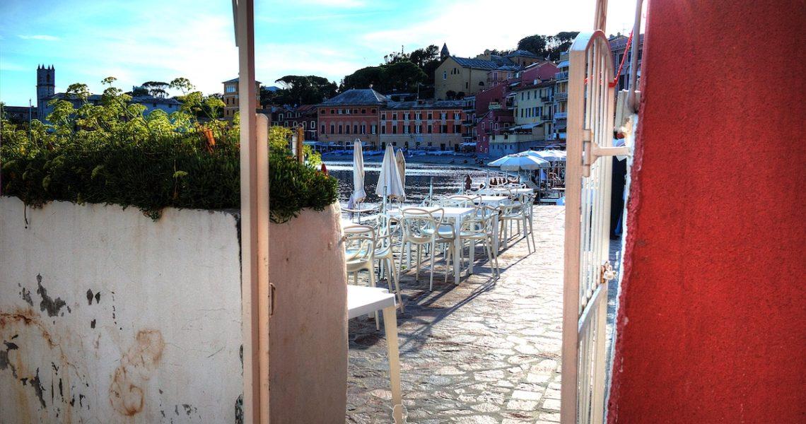 Veranda ristorante Baia del Silenzio