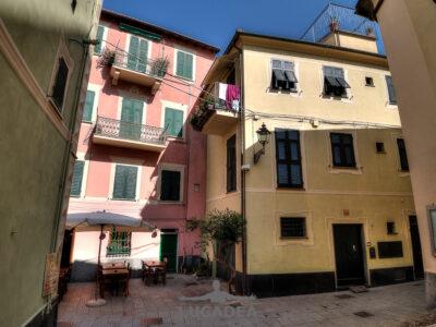 Vicoli del centro storico di Sestri
