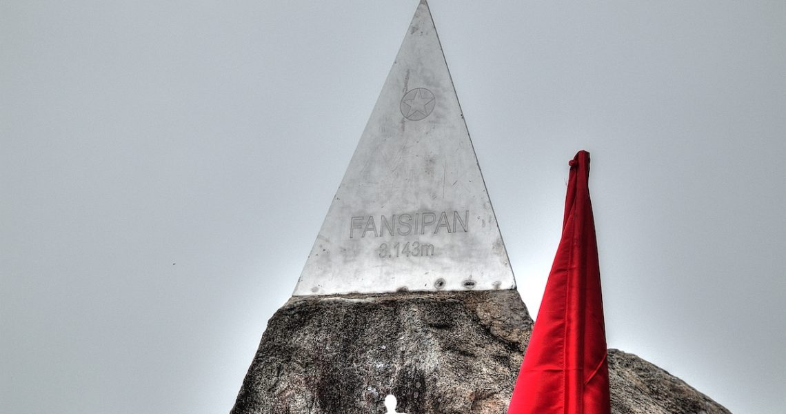 Cima del Fansipan in Vietnam