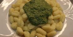 Gnocchi al pesto di basilico