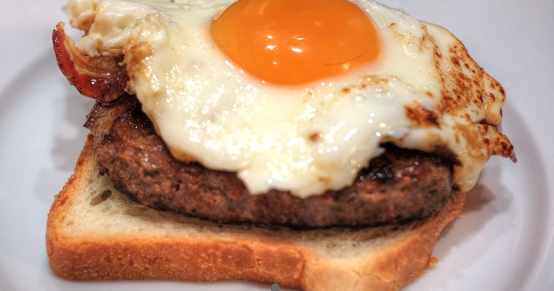 Hamburger alla Bismark