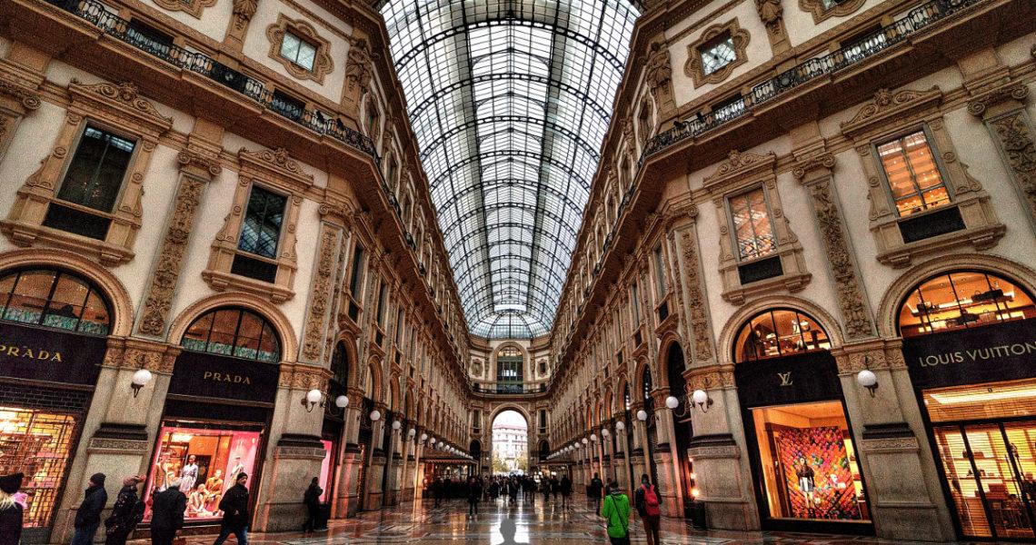 La Galleria Vittorio Emanuele II di Milano
