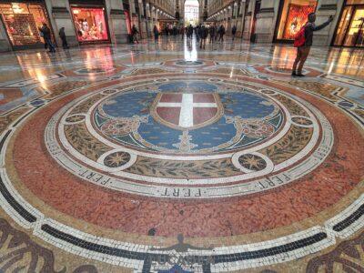 Pavimento della Galleria di Milano