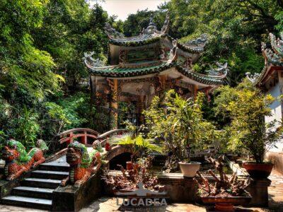 Piccola pagoda alle Marble Mountain