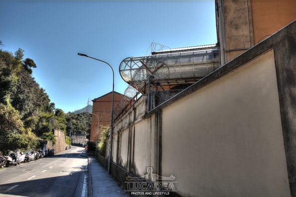 Via Antonio Gramsci a Riva Trigoso
