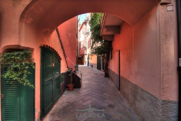 Vicoli del centro storico di Sestri Levante