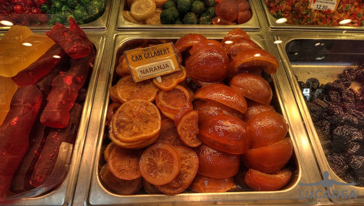 Frutta candita in Spagna
