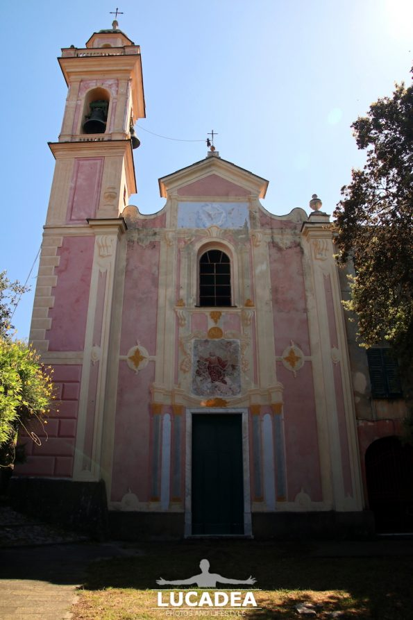 La chiesa di San Tommaso del Curlo a Leivi