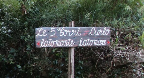 Sentiero delle 5 torri a Chiavari