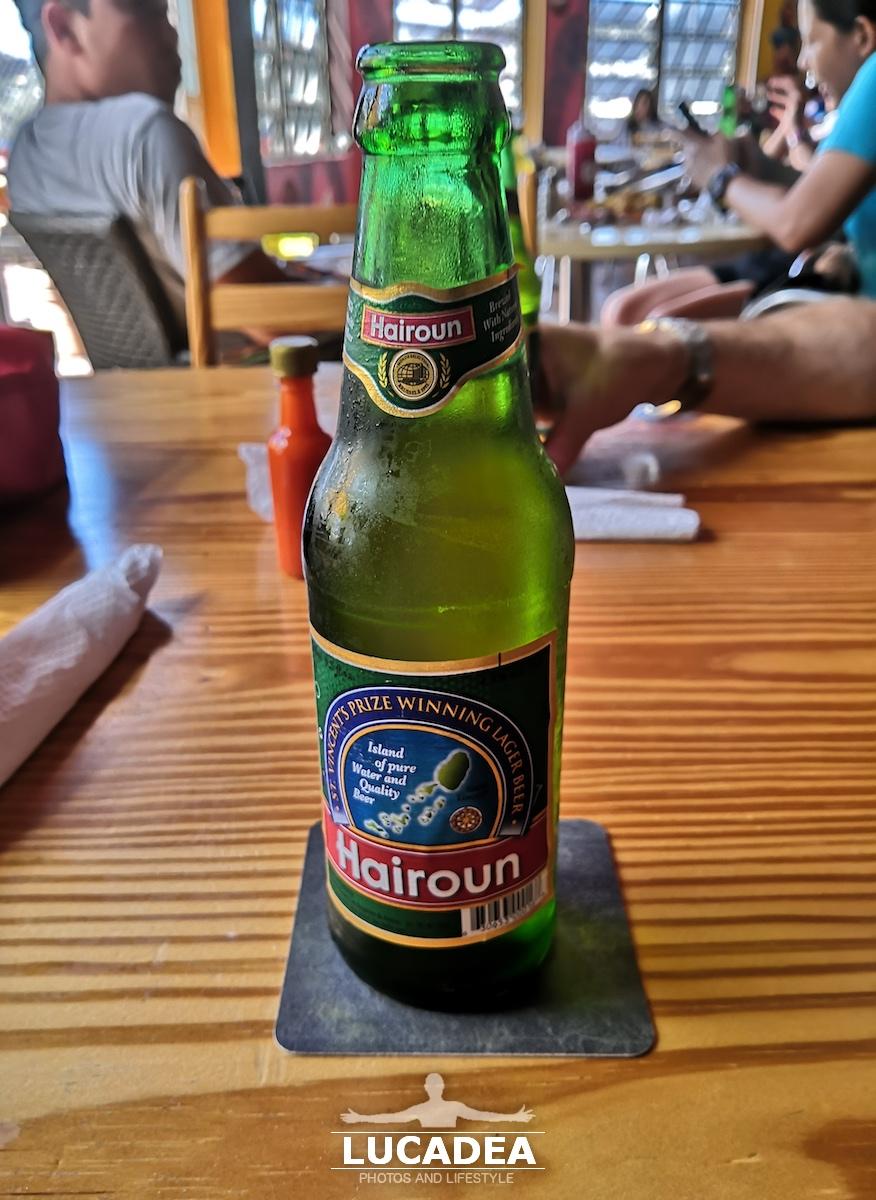 Birra Hairoun, bionda caraibica