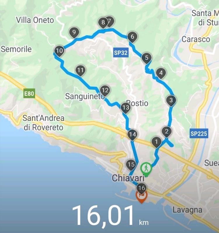 GPS Sentiero delle 5 torri