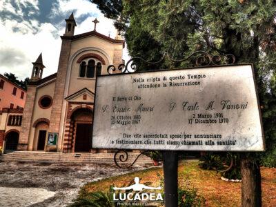 Tempio di Cristo Re a Sestri Levante