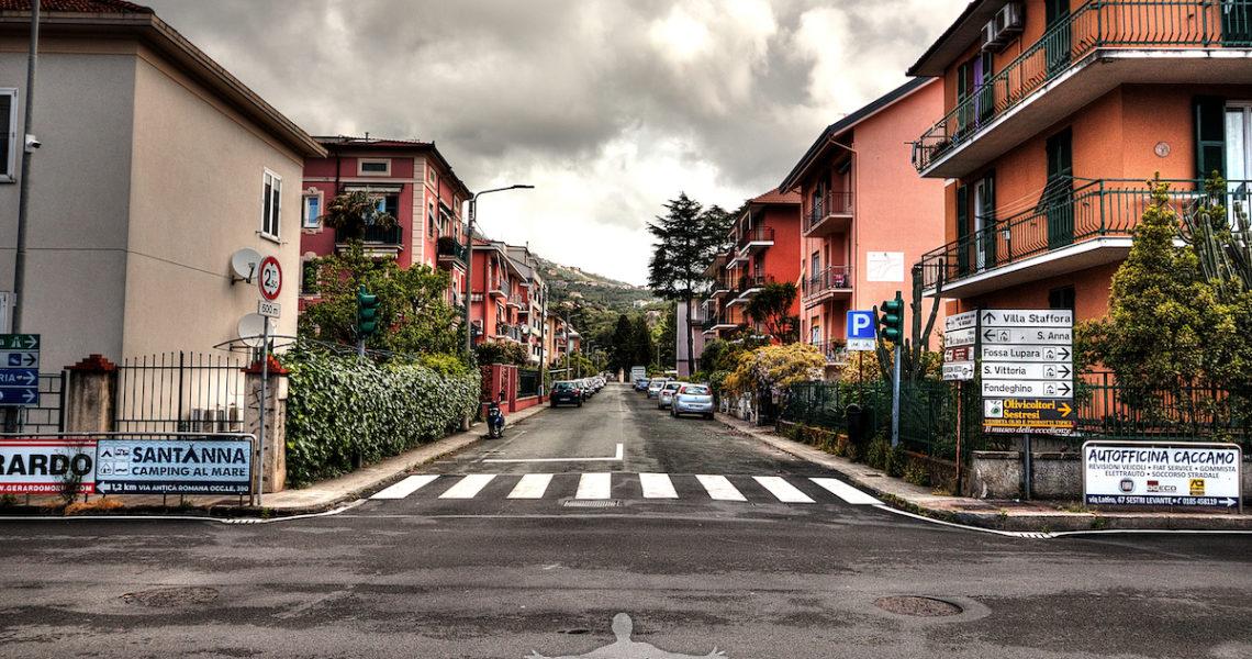Via Lazio a Sestri Levante