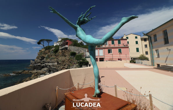 Eliska, la statua che era a Sestri Levante