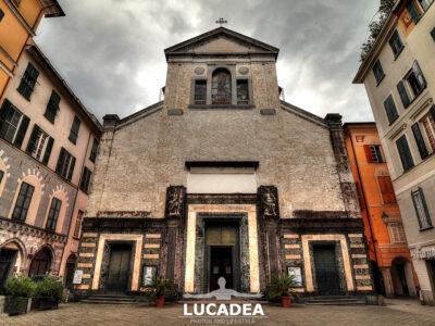 La chiesa di San Giovanni Battista a Chiavari