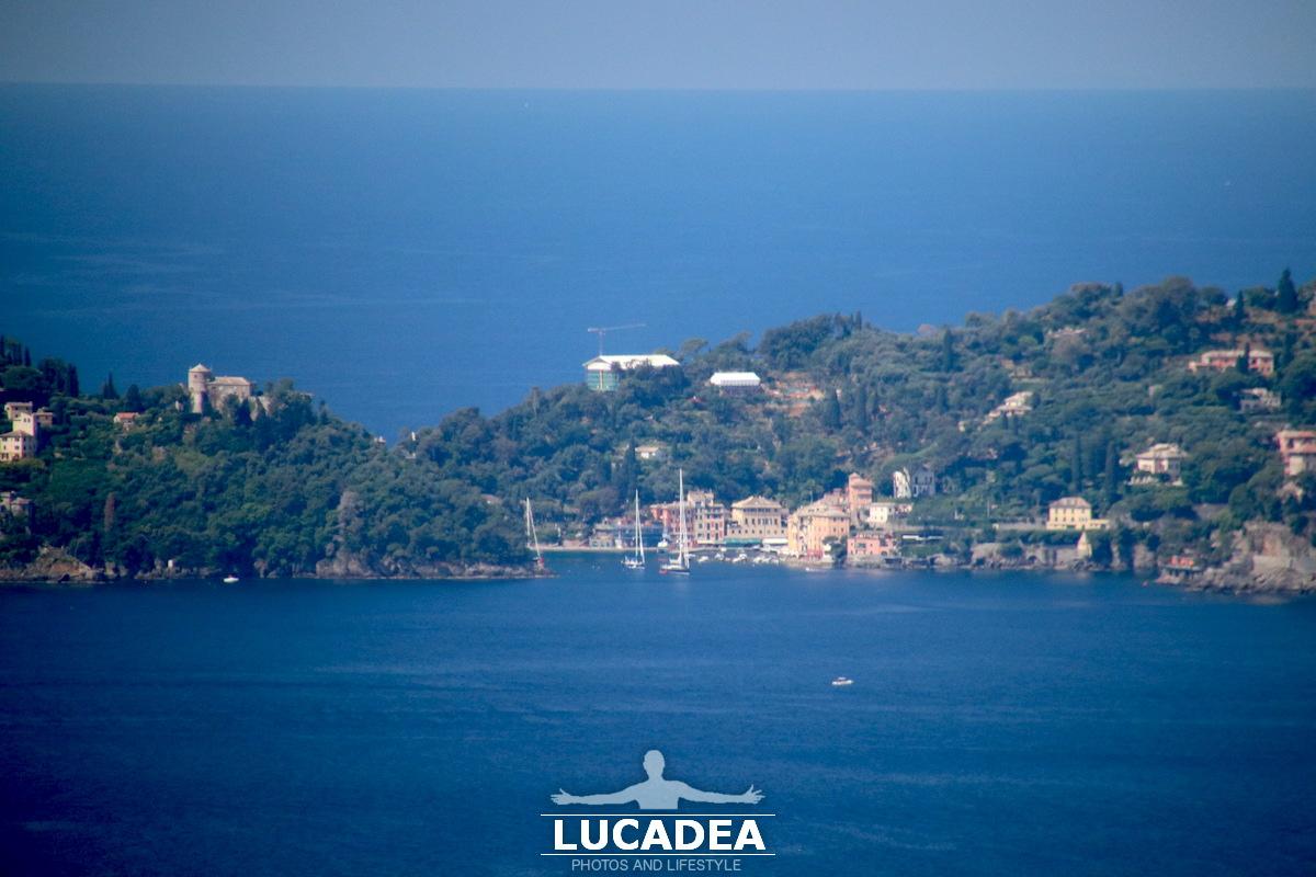 Portofino vista da lontano