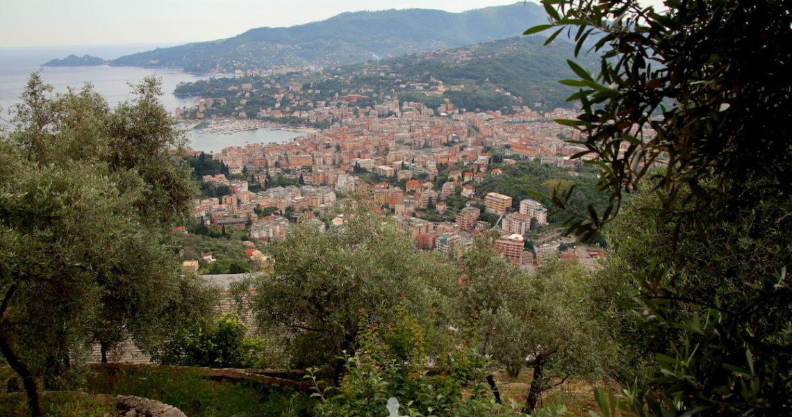 Rapallo vista dall'alto