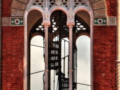 Particolari della Torre di Palazzo Fascie Rossi