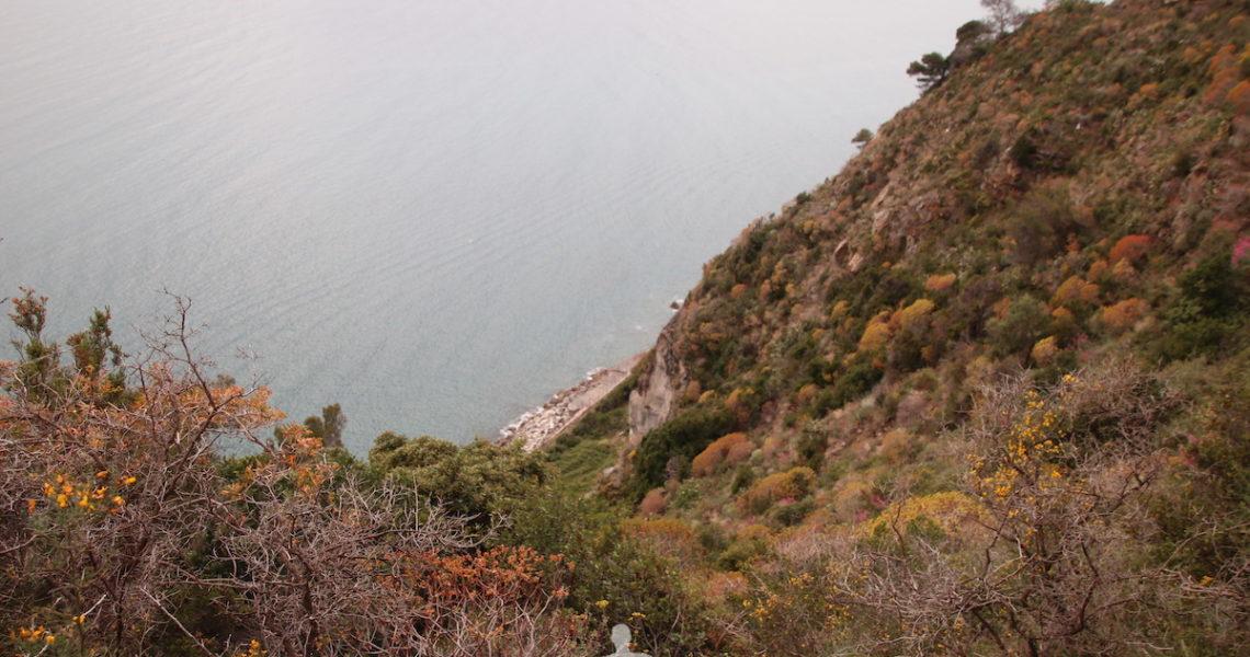 Vista a Ponente dalle Rocche di Sant'Anna