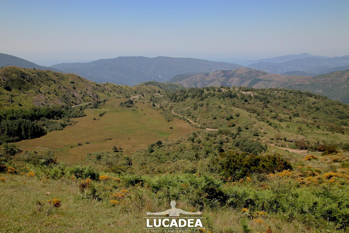 La vista da sopra il Monte Biscia