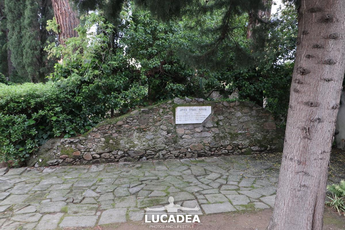 La antica via Aurelia a Sestri Levante