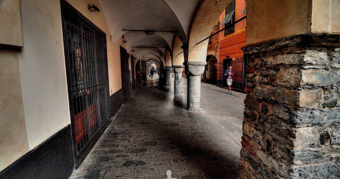 Vicoli e portici di Chiavari