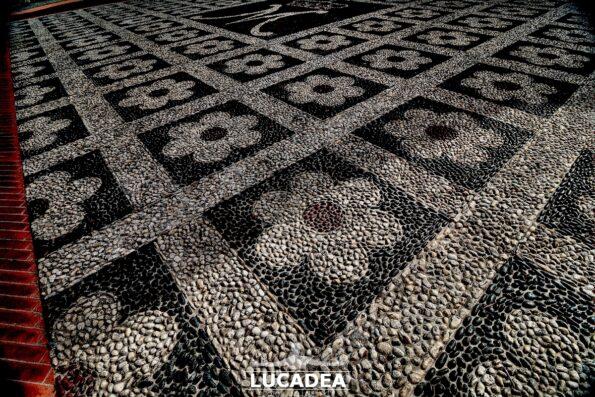 Ciottoli della Chiesa di Santa Sabina a Trigoso