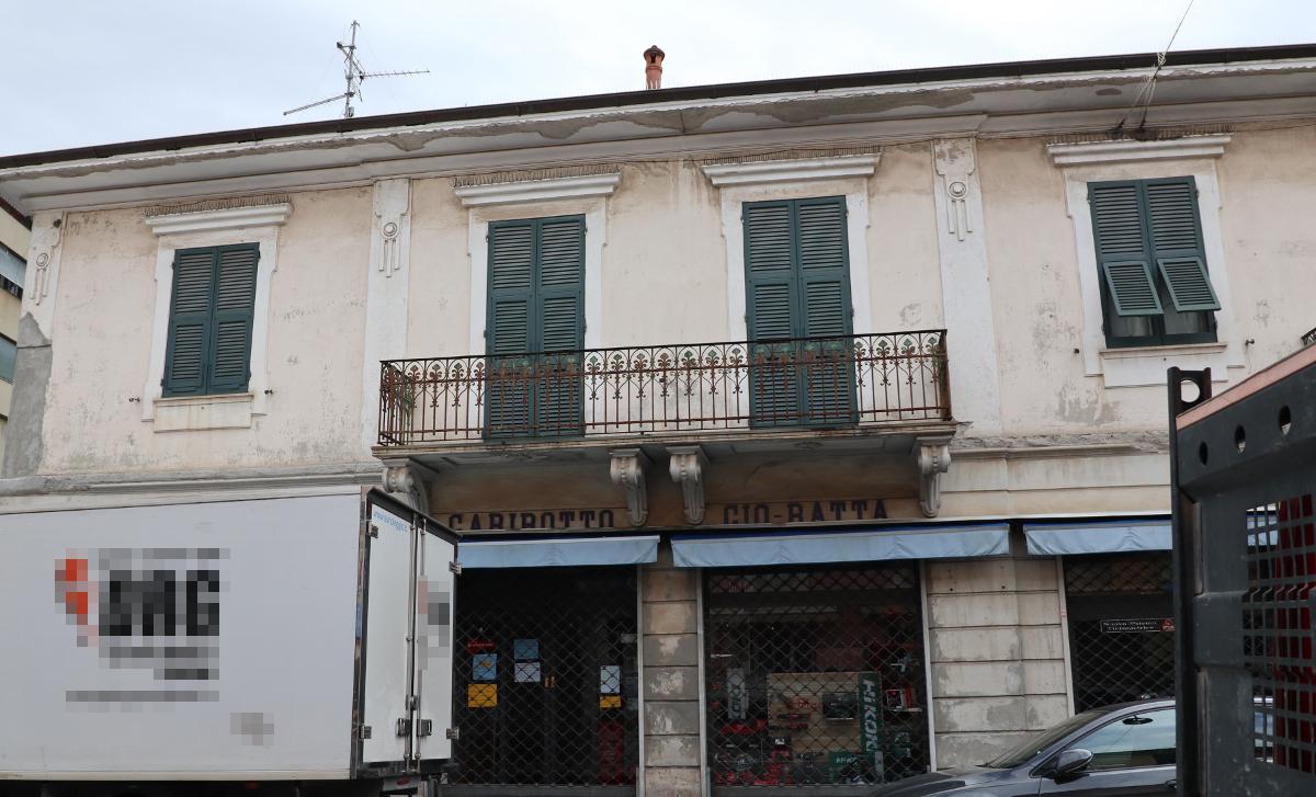 Il negozio di Garibotto a Sestri Levante