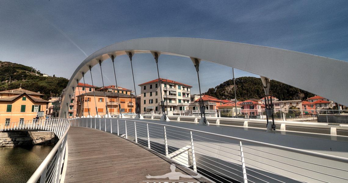 Il ponte sul Petronio a Riva Trigoso