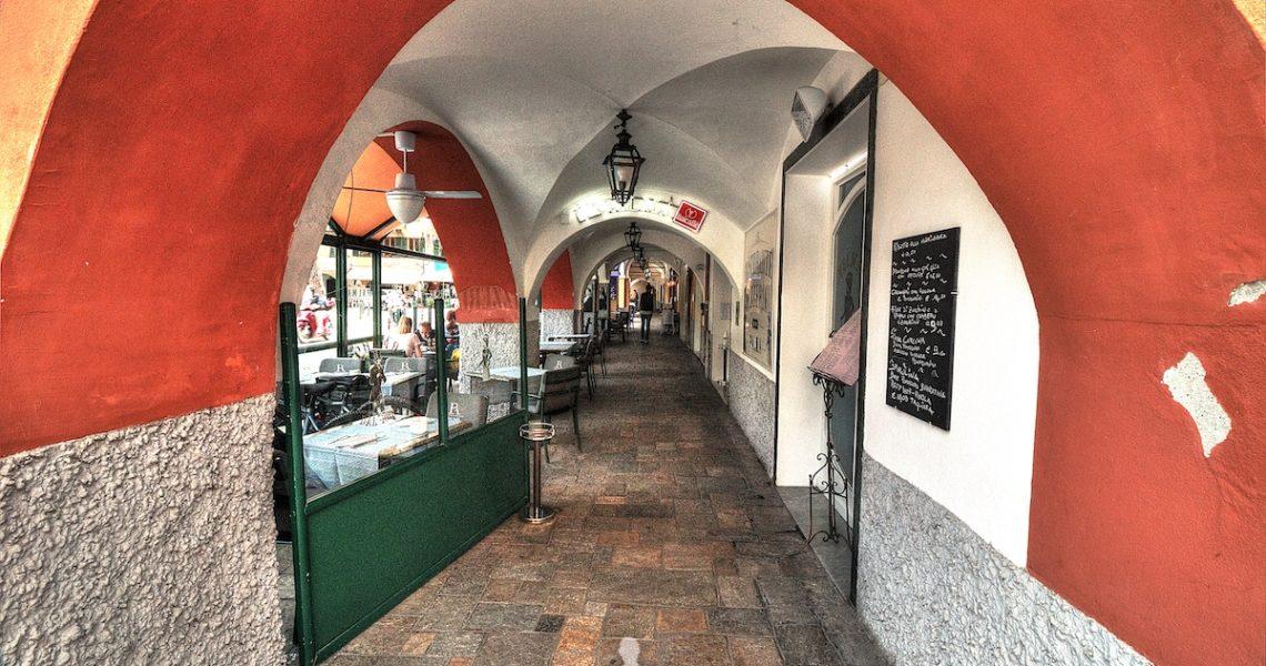 I portici di Santa Margherita Ligure