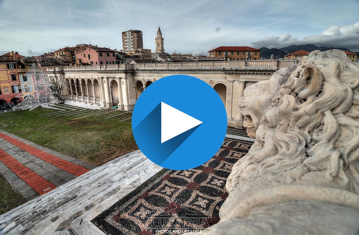 A passeggio per Lavagna: video in 4k della cittadina dell'ardesia
