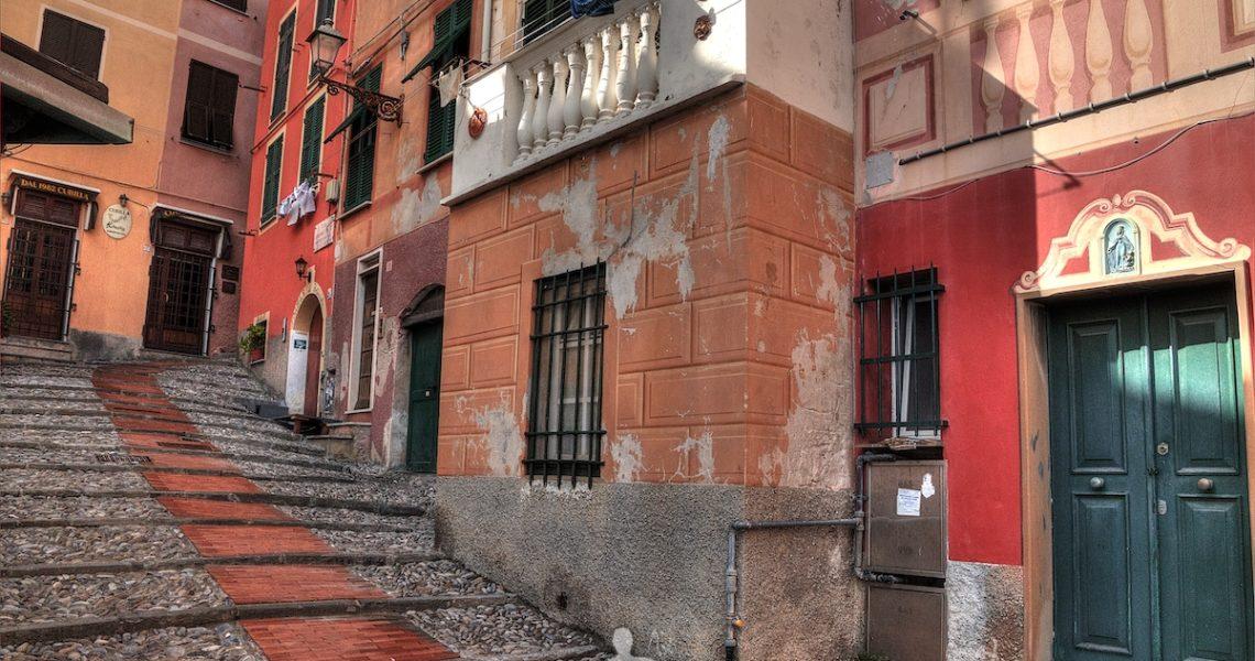 Vicoletti di Genova Nervi