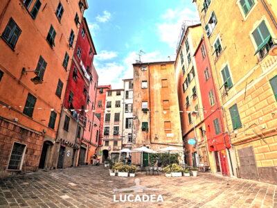 Piazza Sant'Elena a Genova