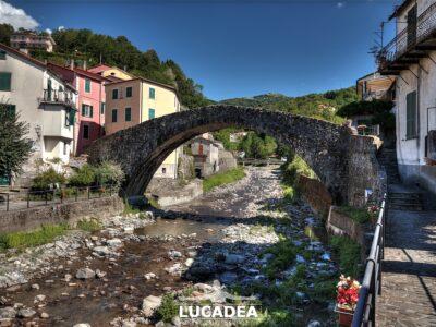 Il ponte Grecino a Varese Ligure