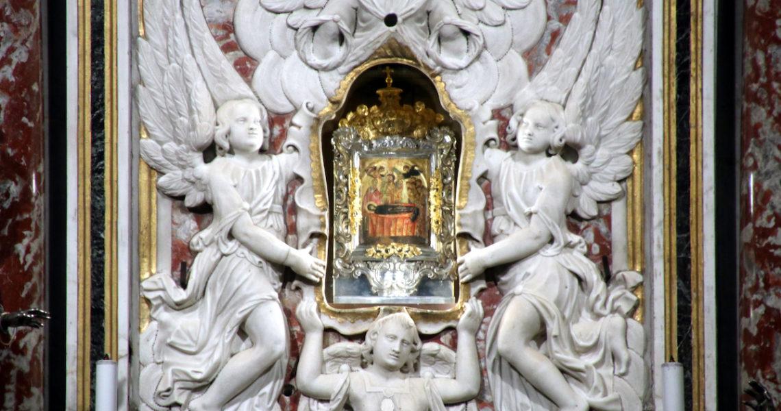 L'icona del Santuario di Montallegro