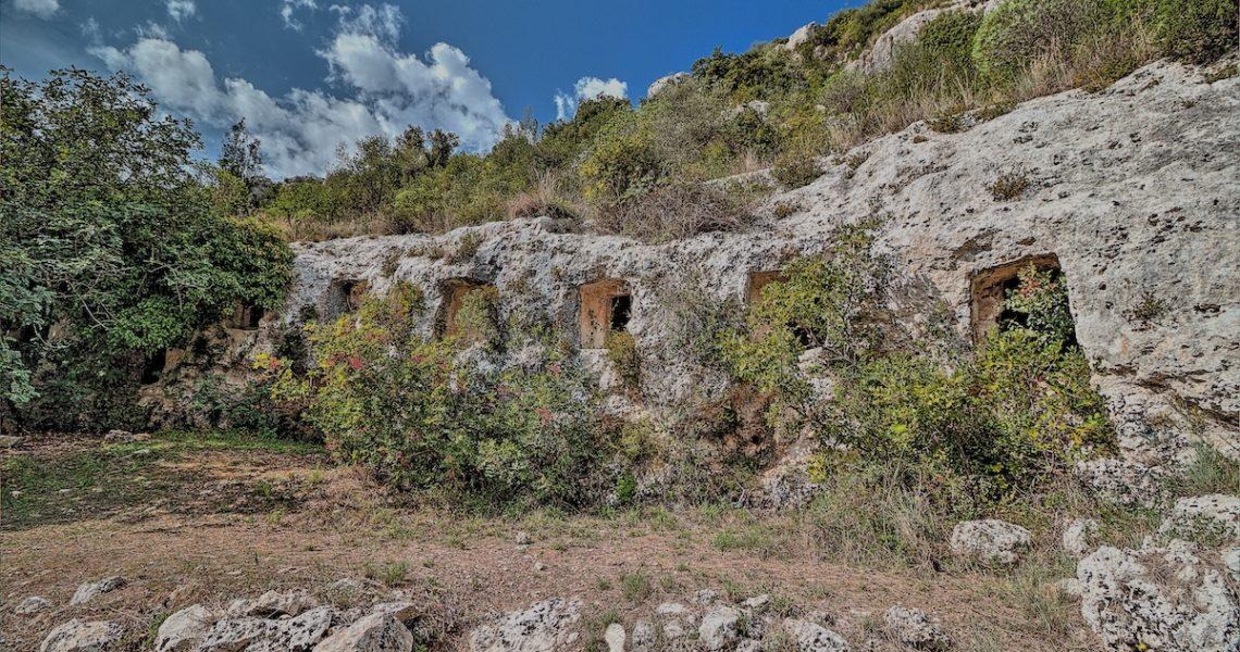 La necropoli di Pantalica, vicino a Siracusa