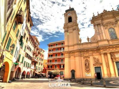 Piazza Caprera a Santa Margherita Ligure