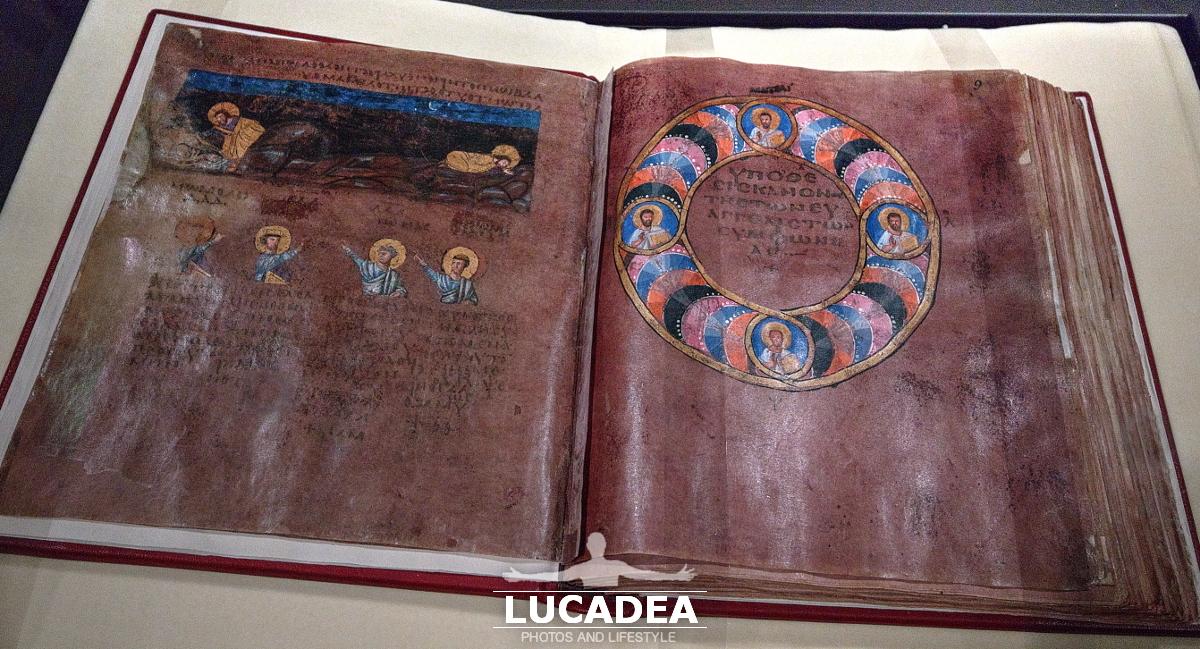 Il Codex Purpureus Rossanensis a Rossano