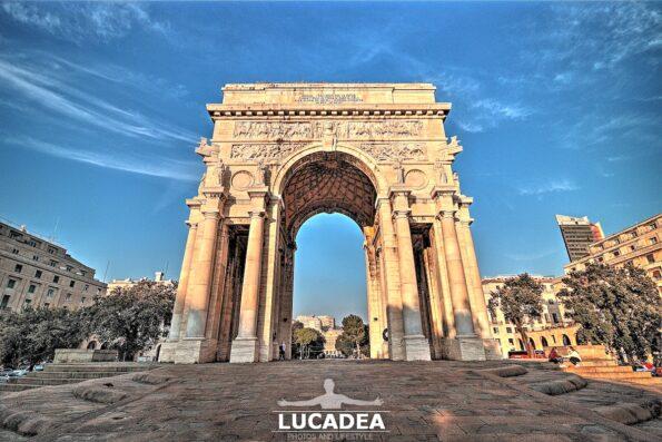 L'Arco della Vittoria a Genova