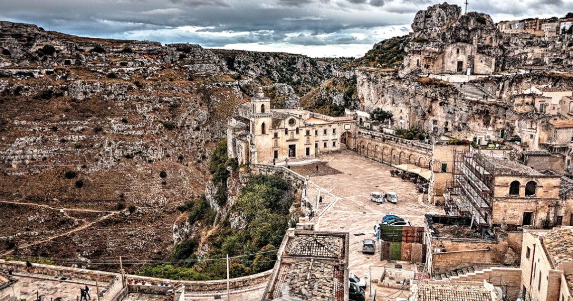 Matera e la chiesa Rupestre di Santa Maria di Idris