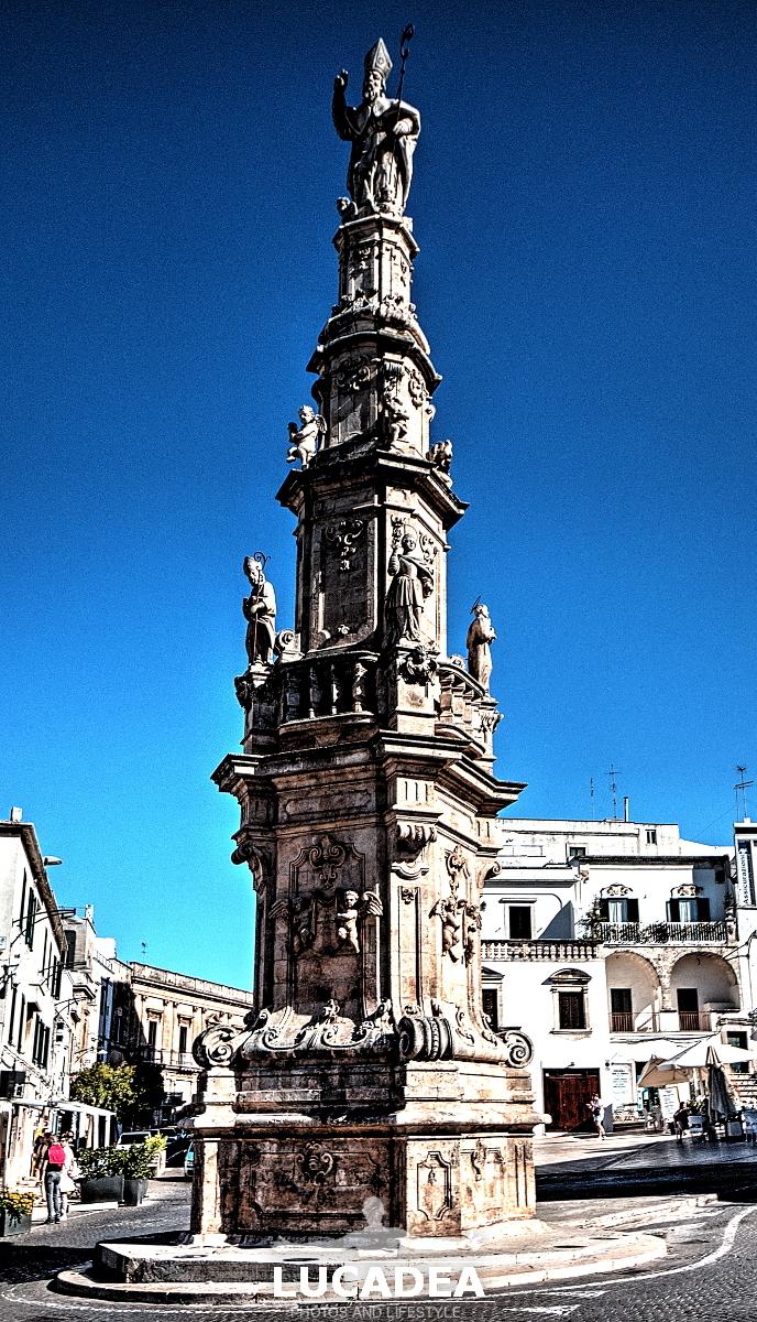 La Colonna di Sant'Oronzo ad Ostuni