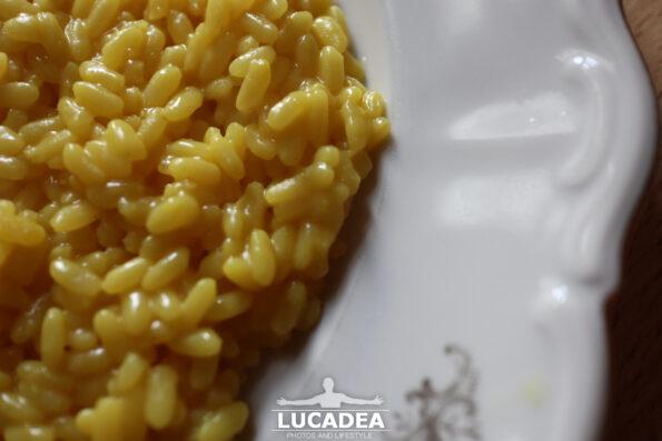Il risotto alla milanese