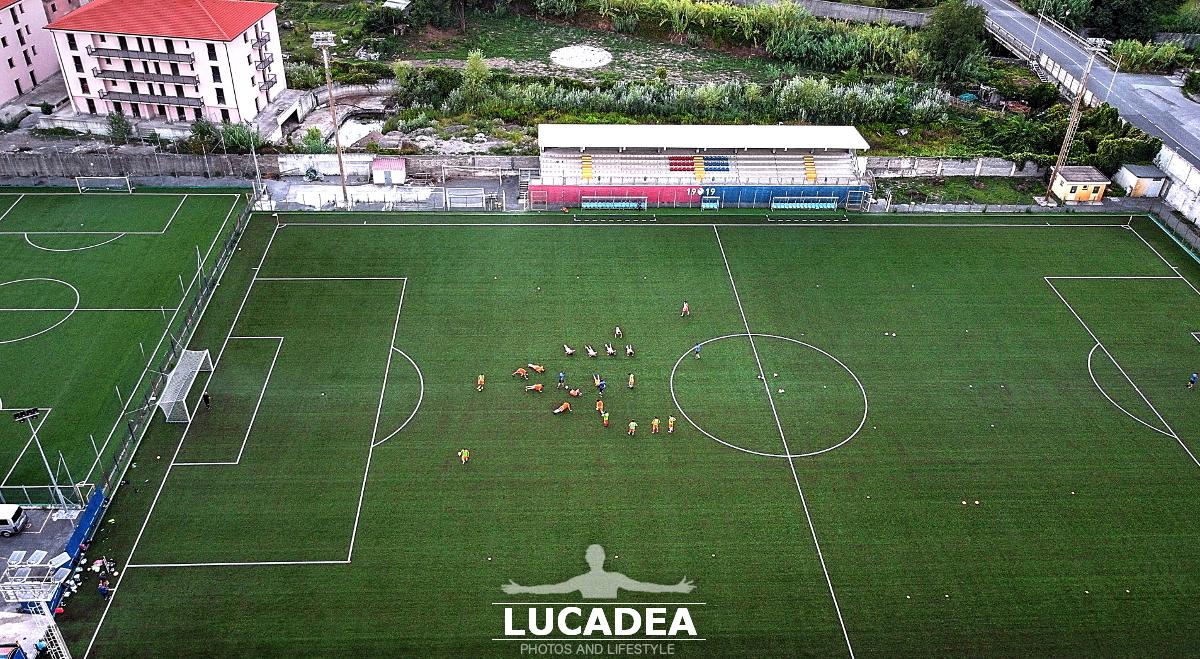Lo stadio Giuseppe Sivori di Sestri Levante
