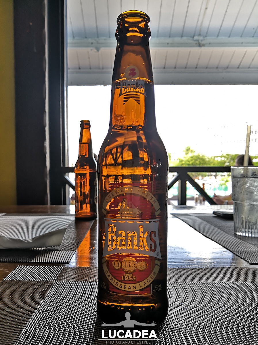 Birra Banks, bionda caraibica