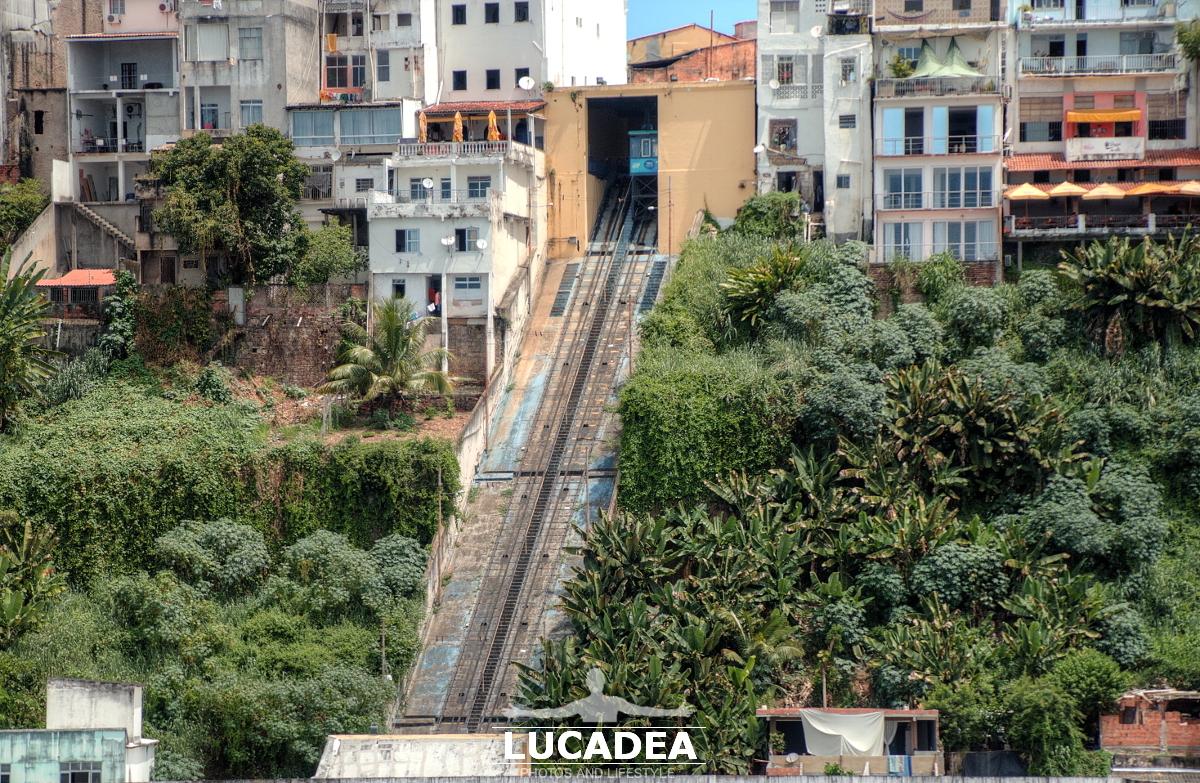 Trenino cremagliera di Salvador de Bahia