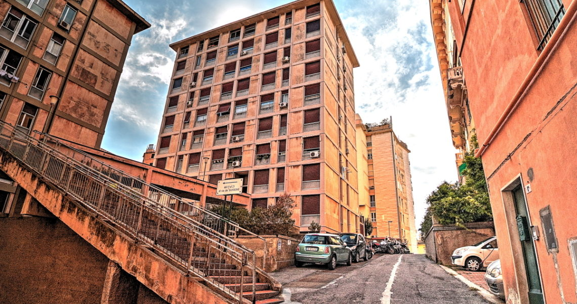 Via dei Sansone a Genova